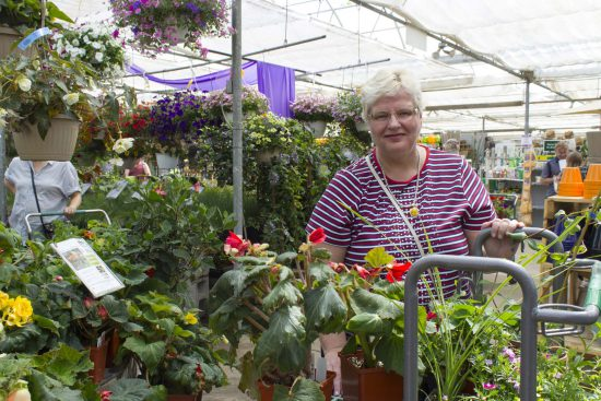 Happy Customer at Salisbury Greenhouse