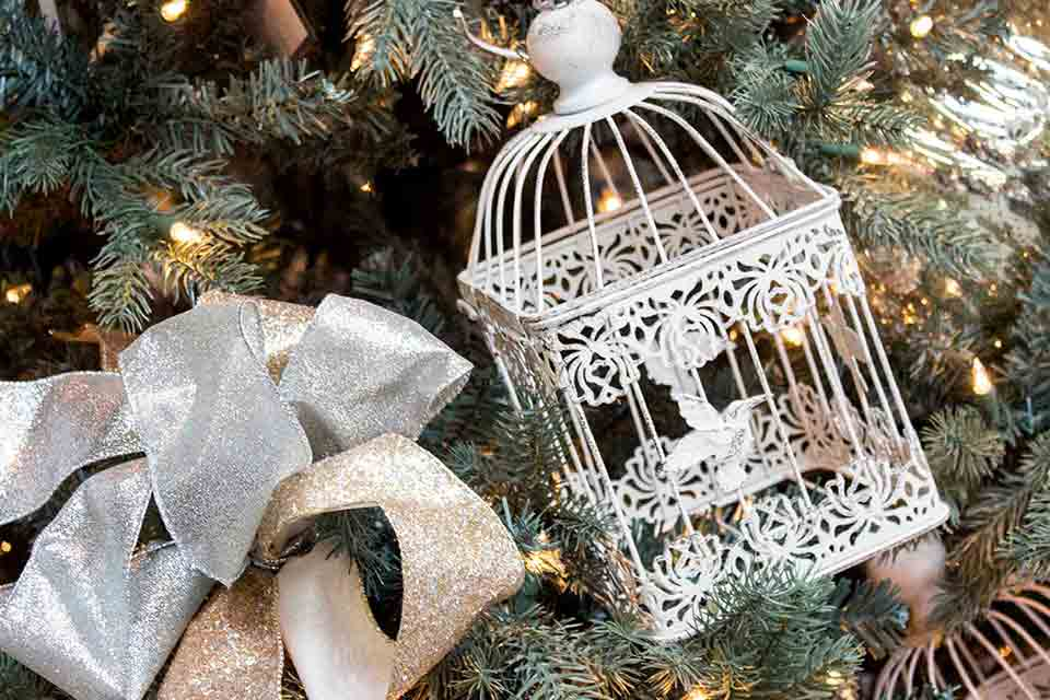 Birdcage Tree Ornament