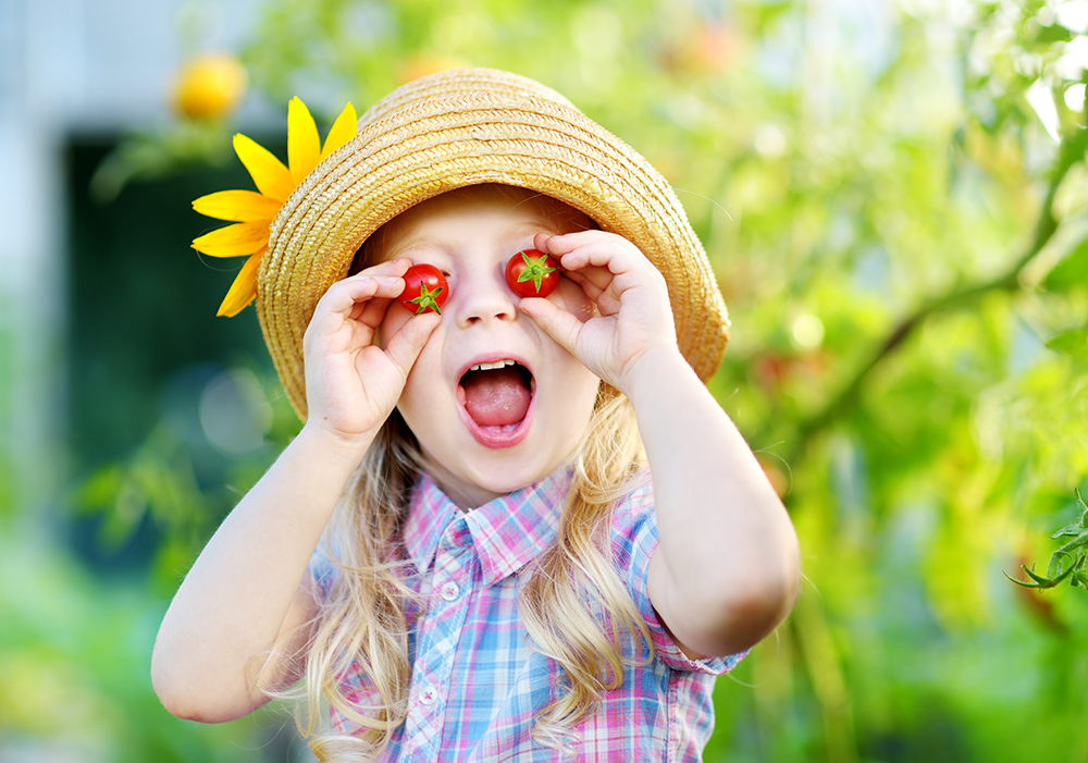 Edible Gardening with Kids Vegetables