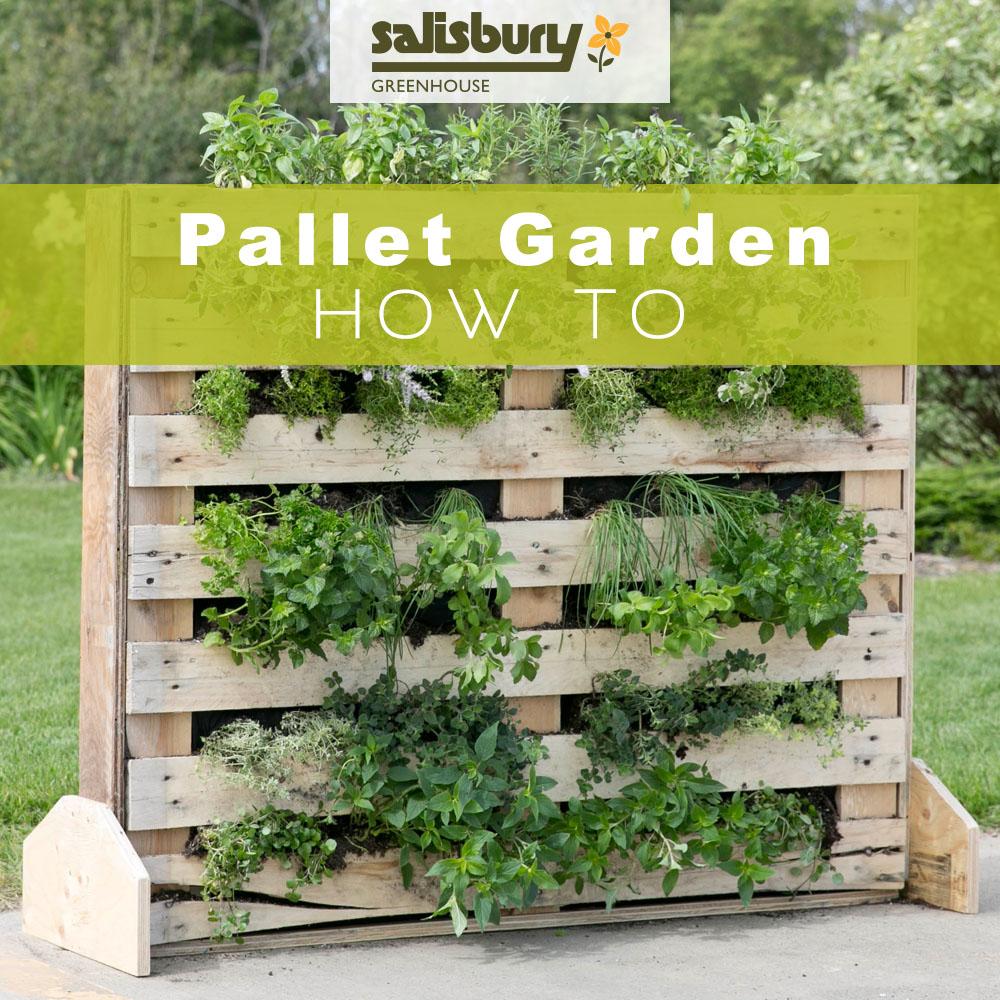 Garden Decor Using Pallets: Salisbury Greenhouse