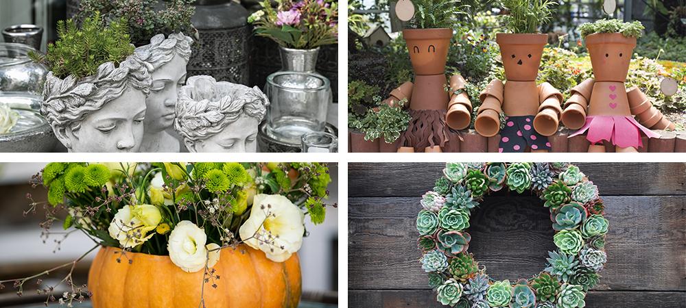 weirdest-gardening-trends-head-planter-pumpkin-jack-o-planter-succulent-wreath